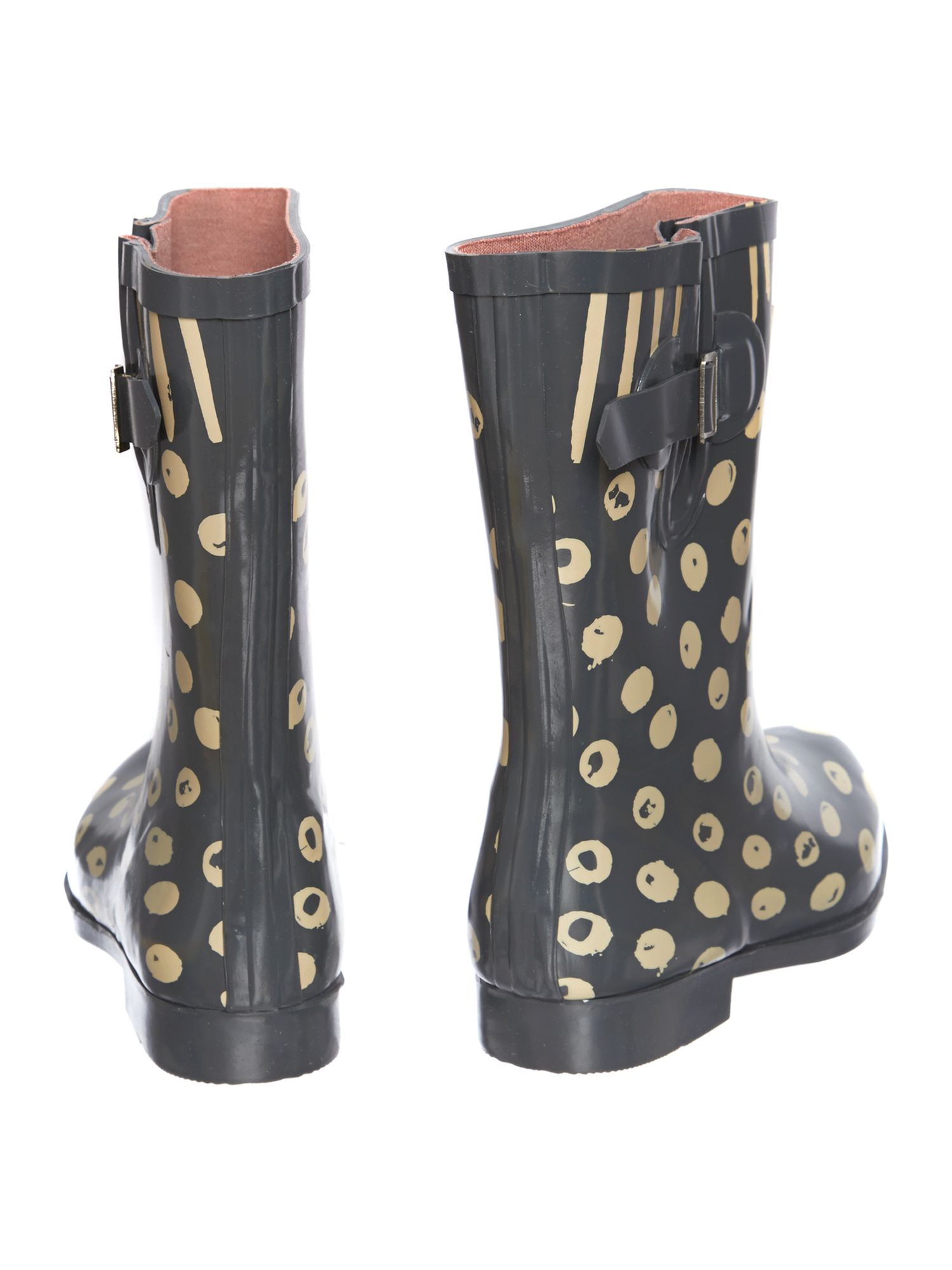 Moon dots dog short welly