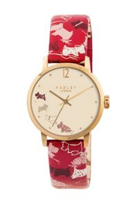 RY2274 Ladies Ruby Strap Champagne Dial