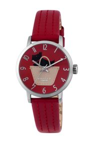 RY2287 Ladies Ruby Strap Ruby Satin Dial