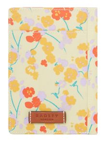Butterfield yellow passport cover
