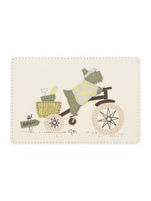 To the beach ivory credit card holder