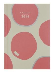 Spot on pink A6 diary
