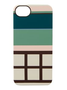 Downtown green iphone case