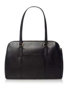 Bankside black large workbag