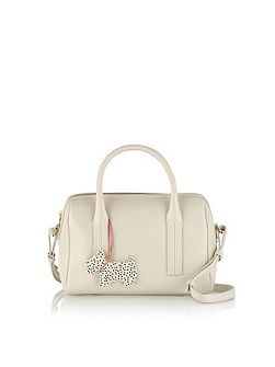 Pickwick ivory small barrel multiway bag
