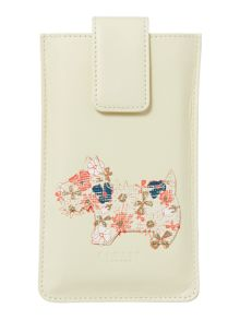 Radley Hippy dog coral iphone case