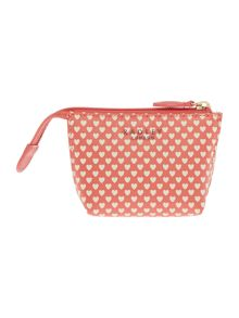 Love radley coral small coin purse