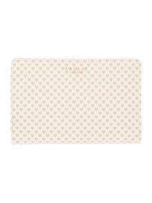 Radley Love Radley Ivory medium zip around purse