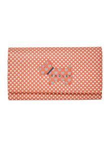 Radley Love radley coral large flap-over purse