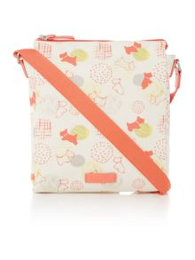 Radley  Scribble Print multicoloured medium crossbody