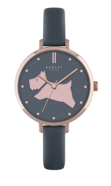 Radley Radley shingle leather strap watch