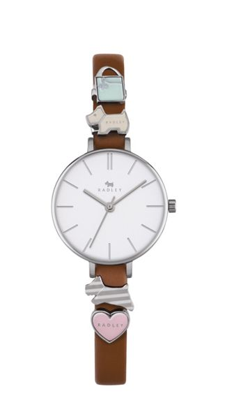 Radley Radley tan charm strap watch