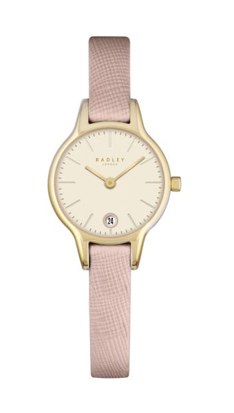Radley Radley pink leather strap watch