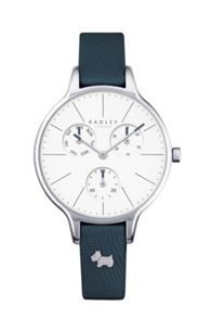 Radley Radley shingle leather strap multi-dial watch
