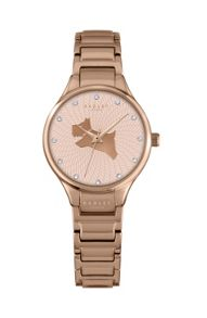 Radley Radley rose gold plated bracelet watch