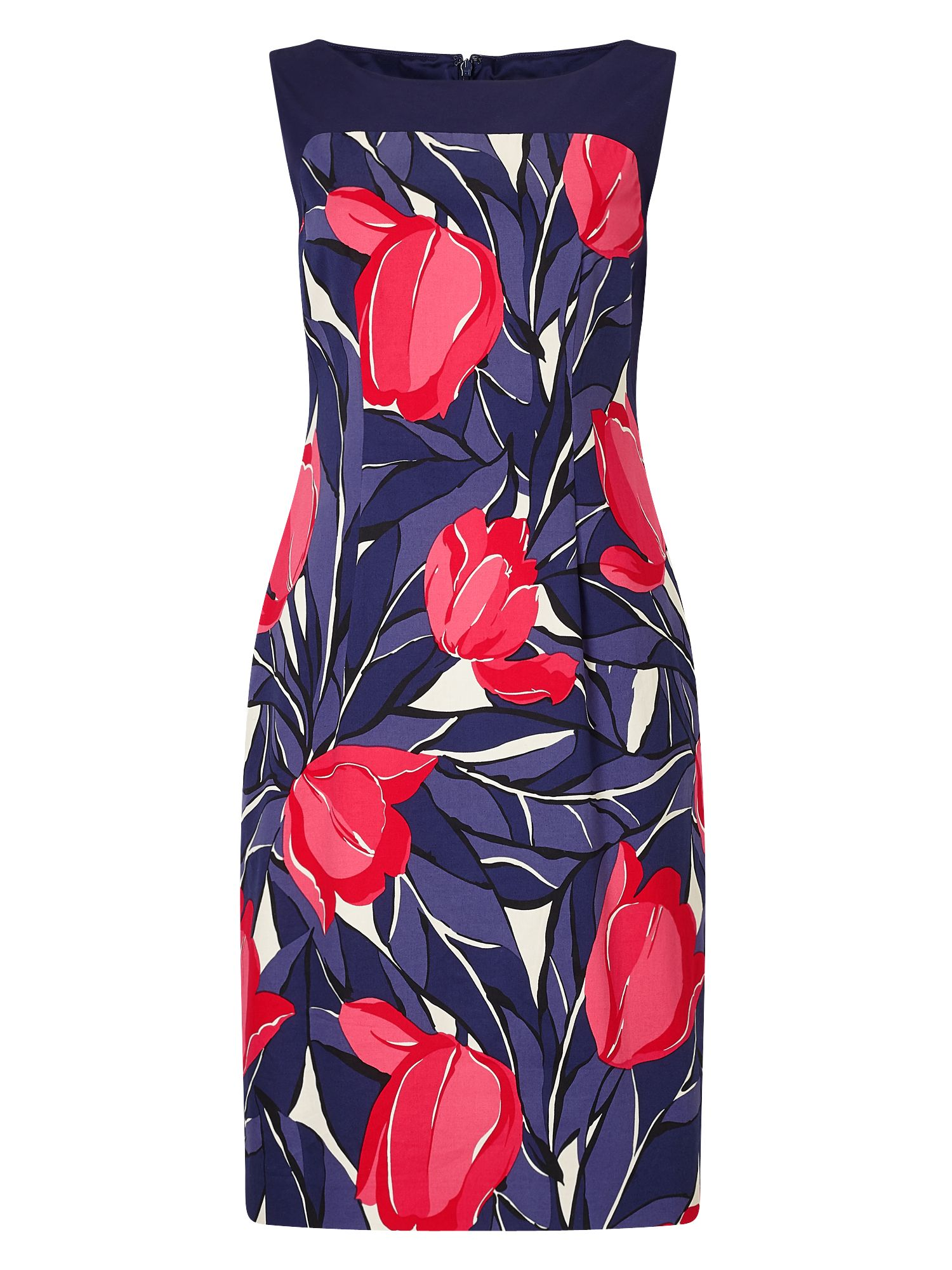 Precis Petite Juliet Tulip Shift Dress MultiColoured