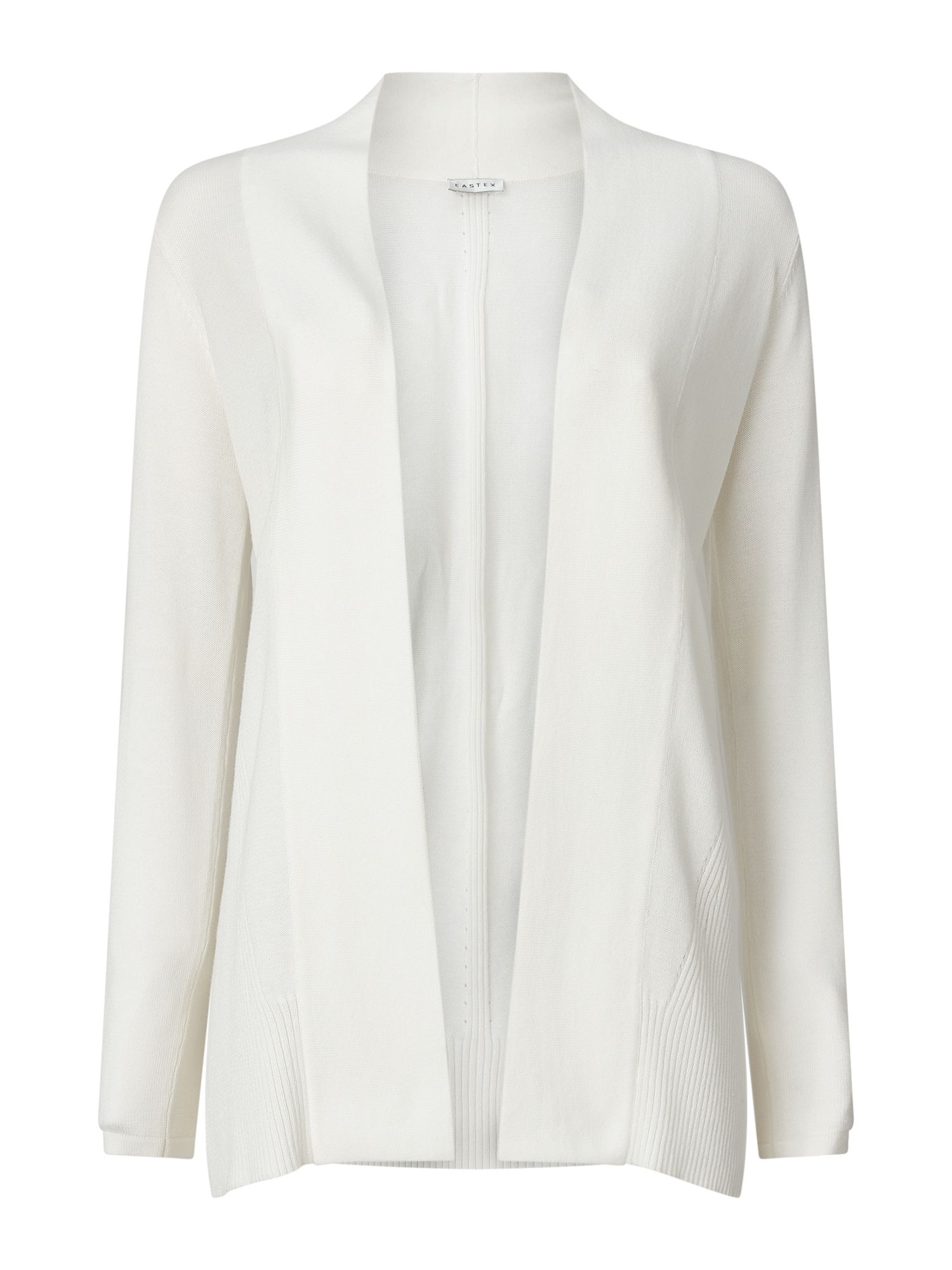 Eastex Edge To Edge Rib Detail Jacket, Neutral