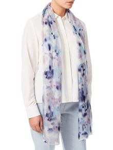 Eastex Reflective Bloom Silk Scarf