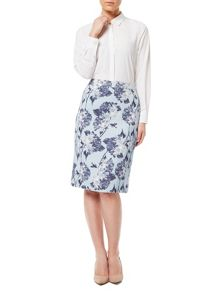 Eastex Printed Textured Skirt