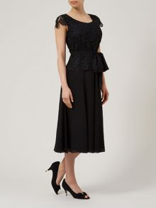 Luxury Lace Fit & Flare Dress