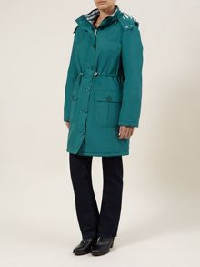 Long Waterproof Trench Coat