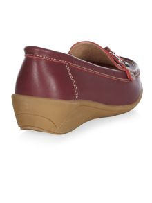 Plum Toggle Loafer