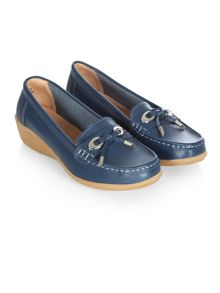 Navy Toggle Loafer