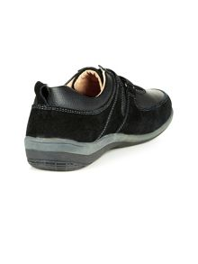 Black Velcro Strap Trainer