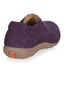 Purple Suede Trainers