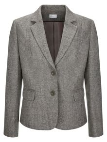 Two Button Melange Jacket