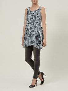 Blurred Floral Blouse