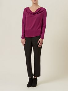 Woven Front Top