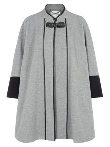Grey Contrast Cape