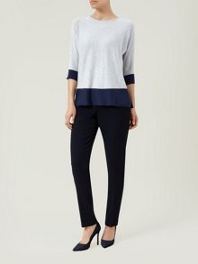 Colour Block Easy Sweater