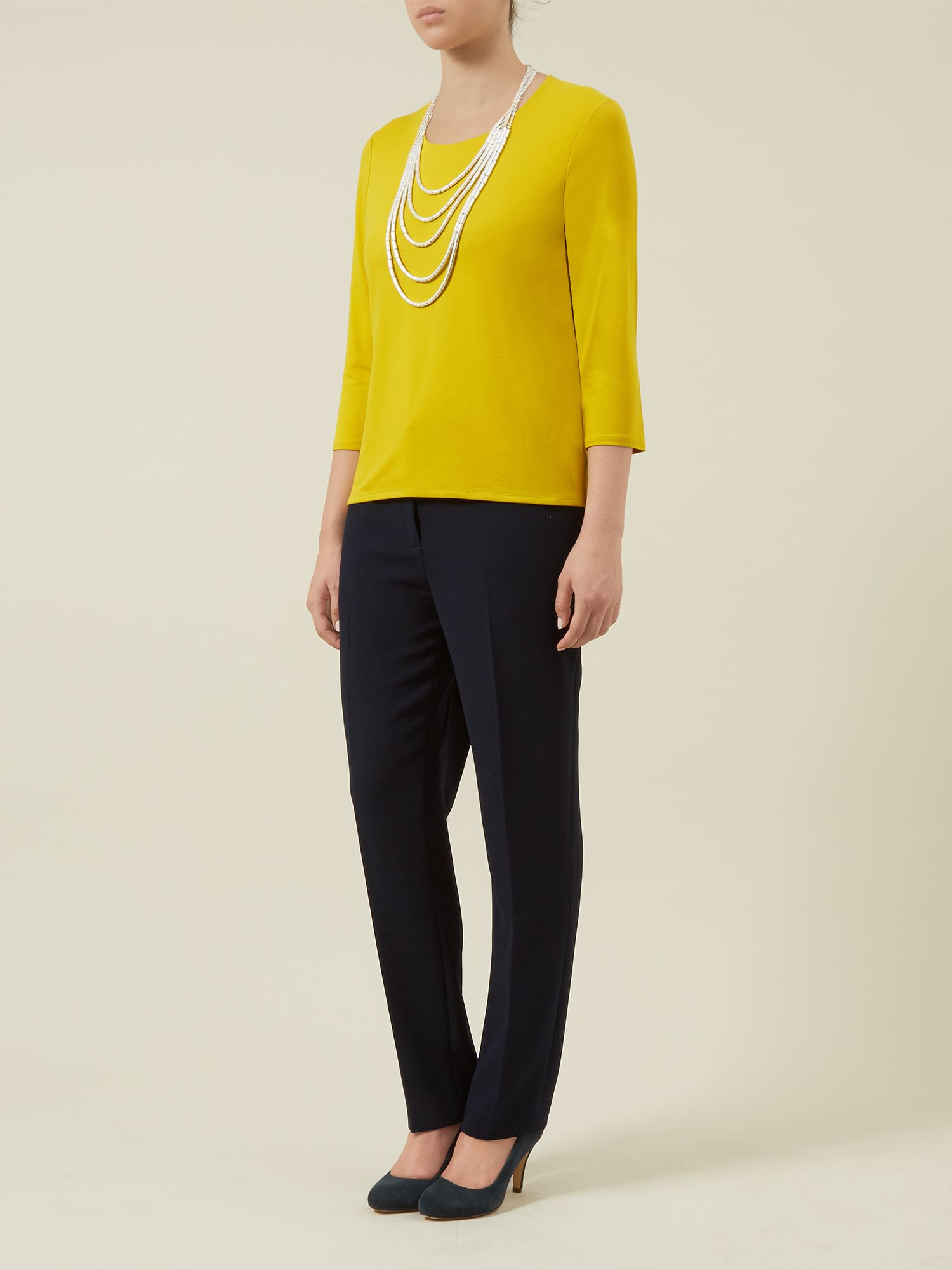 Ochre Basic Top