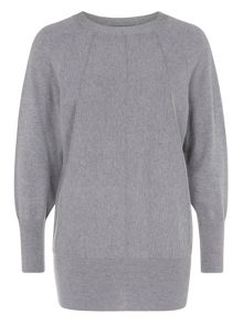 Ribbed Slouchy Jumper