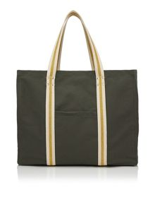 Dash Metallic Webbing Tote Bag