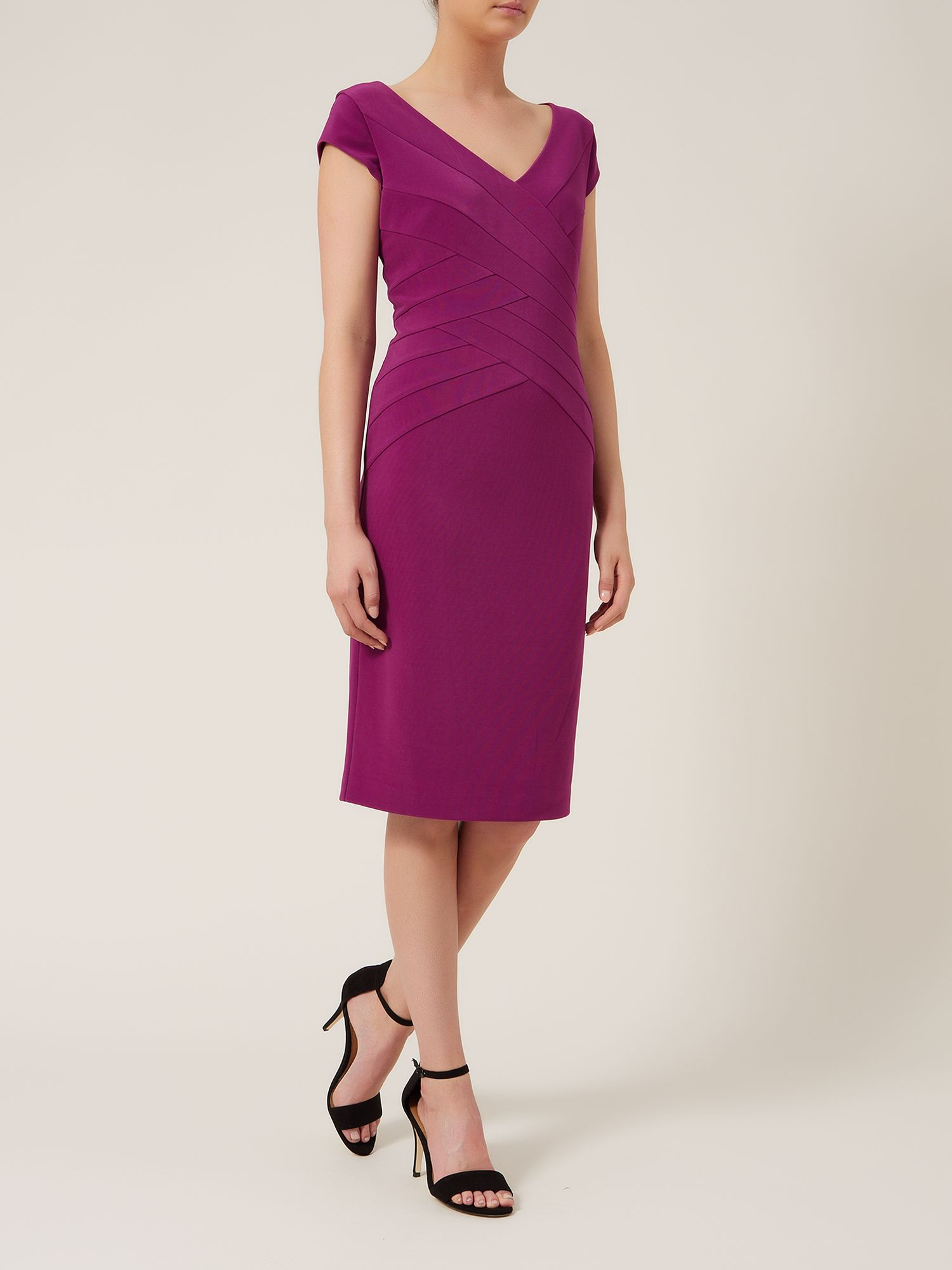 Fuchsia Bandage Dress
