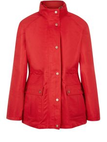 Red Short 3-in-1 Waterproof Coat