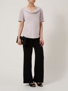 Essential Cowl Neck Blouse