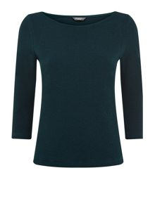 Emerald Textured Top