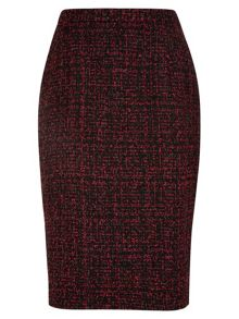 Tweed Pencil Skirt