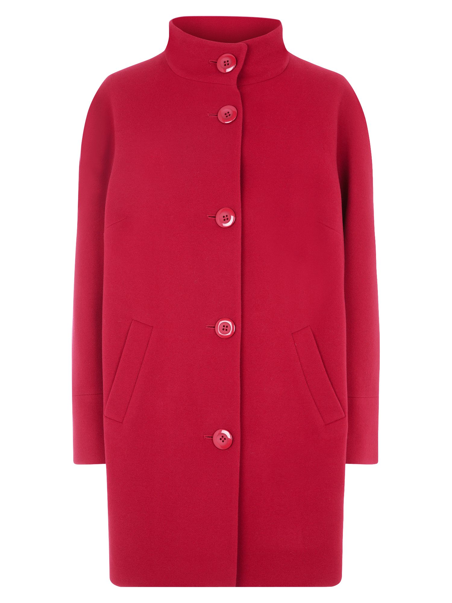 Windsmoor Red Funnel Neck Coat