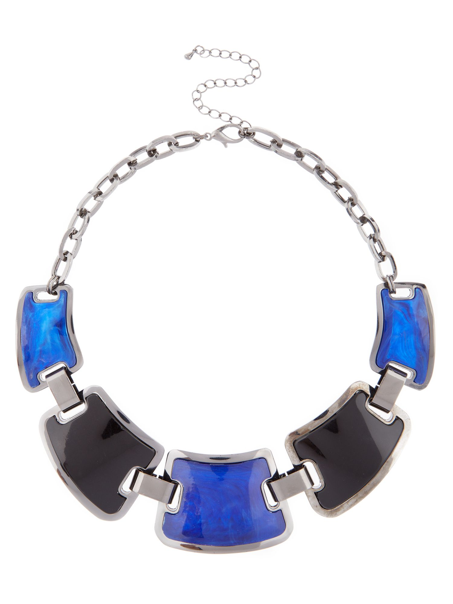 Black & Cobalt Necklace