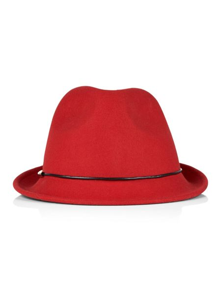 Planet Small Trilby Red