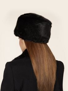 Black Fur Cossack Hat