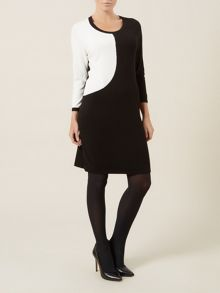 Swoosh Knit Dress