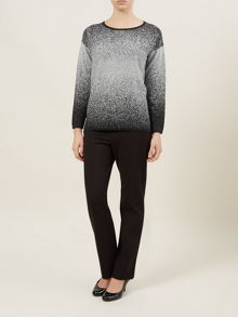 Grey Ombre Jumper