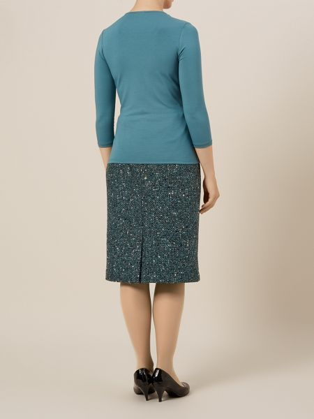 Eastex Tweed Pencil Skirt