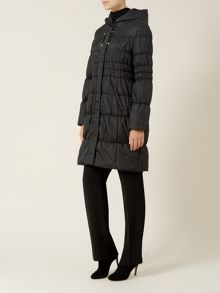 Black Hooded Coat